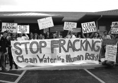 Anti-Fracking Organising in the North-west