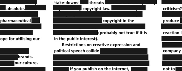 Copyright Censorship