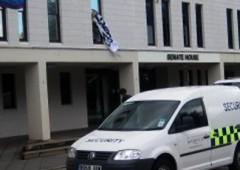 Warwick University Council Chamber Occupied